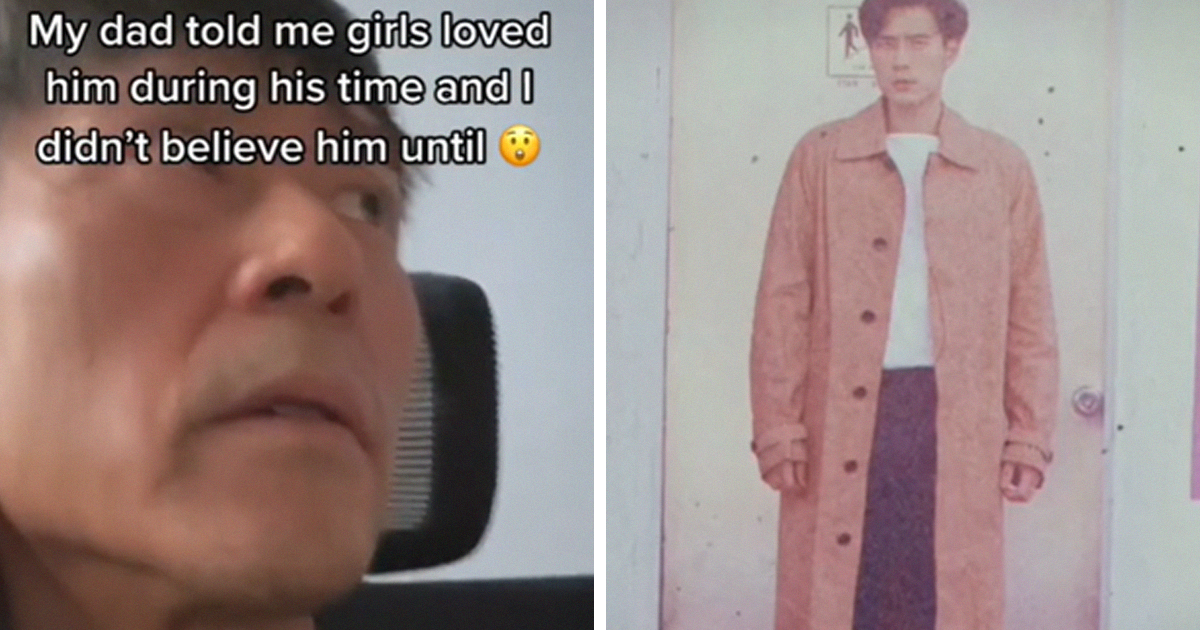 This New TikTok Trend Has People Sharing How Hot Their Parents Used To Be When They Were Young