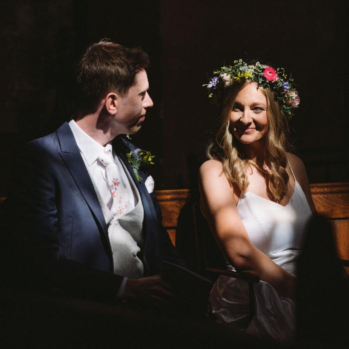 I Photographed A Wedding In Wrenbury, Cheshire