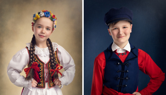 I Capture Beautiful Polish Folklore Costumes In A Painting-Like Style