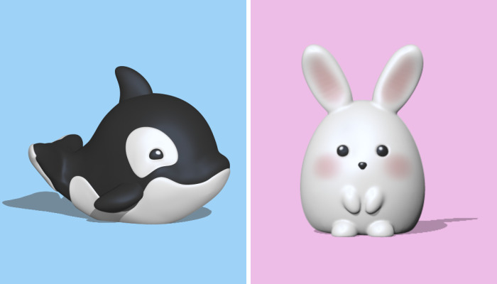 Cute 3D Models By These Artists That Might Brighten Your Day (17 Pics)