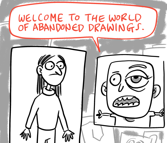 I Explored What Happens To Abandoned Drawings