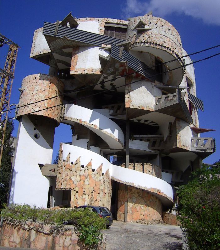 Casa espiral en Ramat Gan