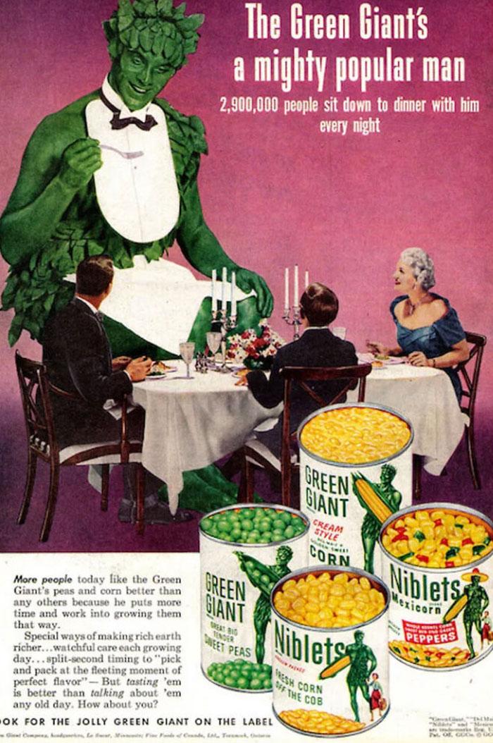 Anuncio del Gigante Verde de 1953
