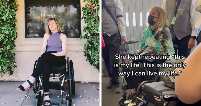 The Internet Is Calling Out Delta Airlines For Damaging This Woman's Wheelchair And Making Her Cry