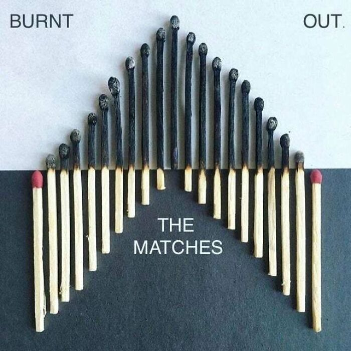 The Matches - Burnt Out