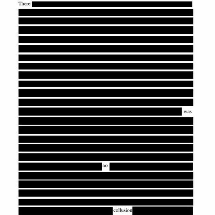 Collusion - There Was No Collusion