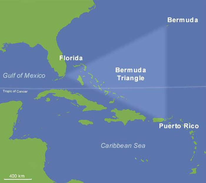 Ships Disappear In The Bermuda Triangle At About The Same Rate As They Do Anywhere Else