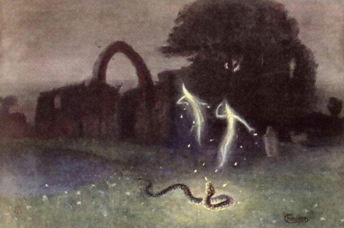 Will-O'-The-Wisps From Folklore Were Likely Inspired By Methane Gas Emanating From Swamps