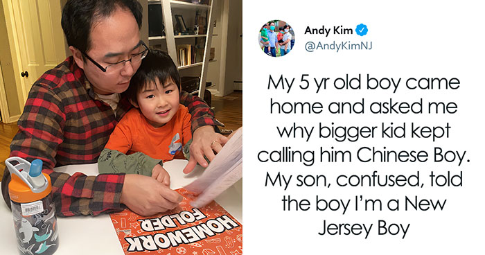 Dad Shares His Heartache Of When His Son Told Him Another Kid Kept Calling Him 'Chinese Boy'