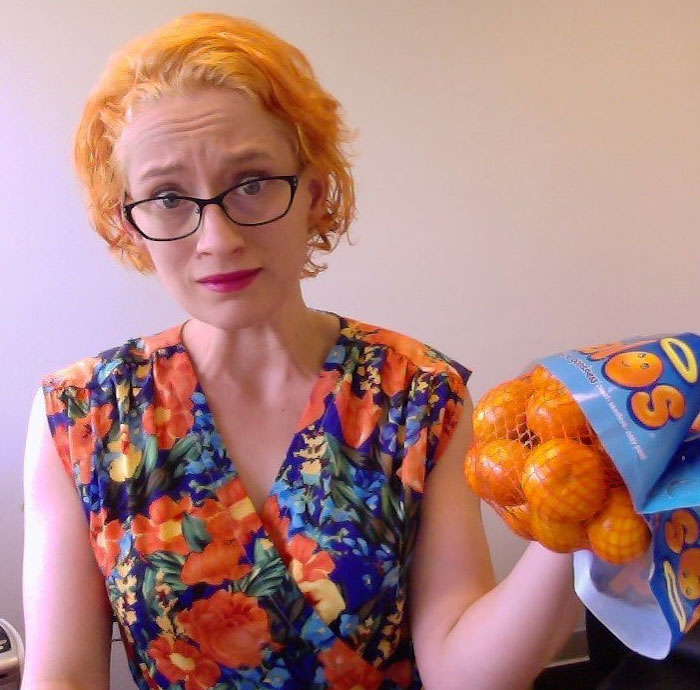 The Time I Accidentally Dyed My Hair Orange And Then Accidentally Dressed Like A Bag Of Oranges