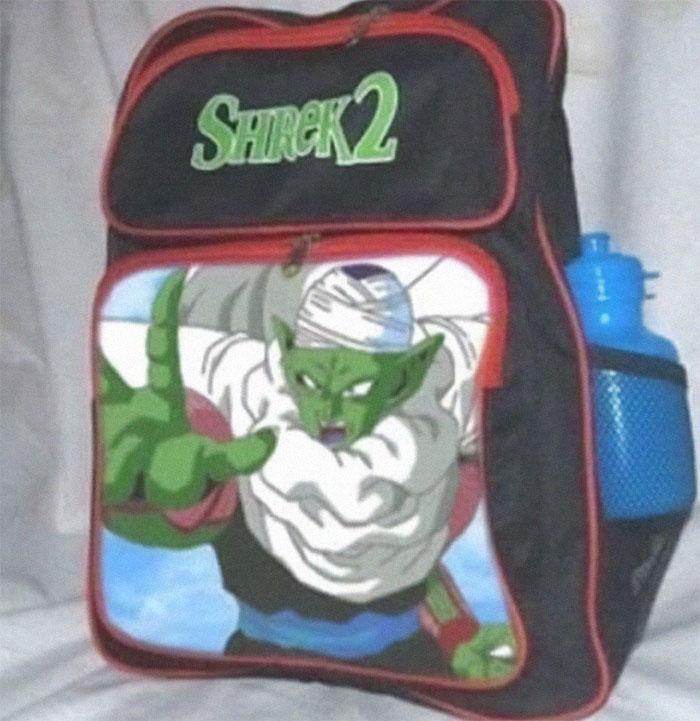 Mochila de Shrek