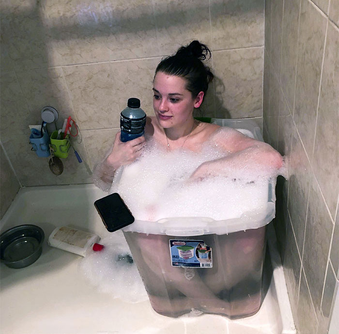 Cuando alguien te compra una bomba de baño y sólo tienes una ducha