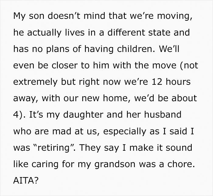 Grandma Wants To Finally Start Living For Herself, So She 'Retires' From Taking Care Of Her Grandkids, Upsets Her Daughter