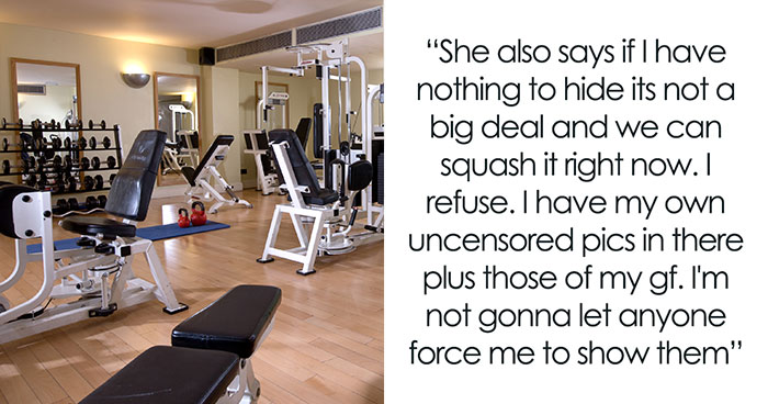 Girl Accuses This Man At A Gym Of Taking Photos Of Her And Demands To Check His Phone