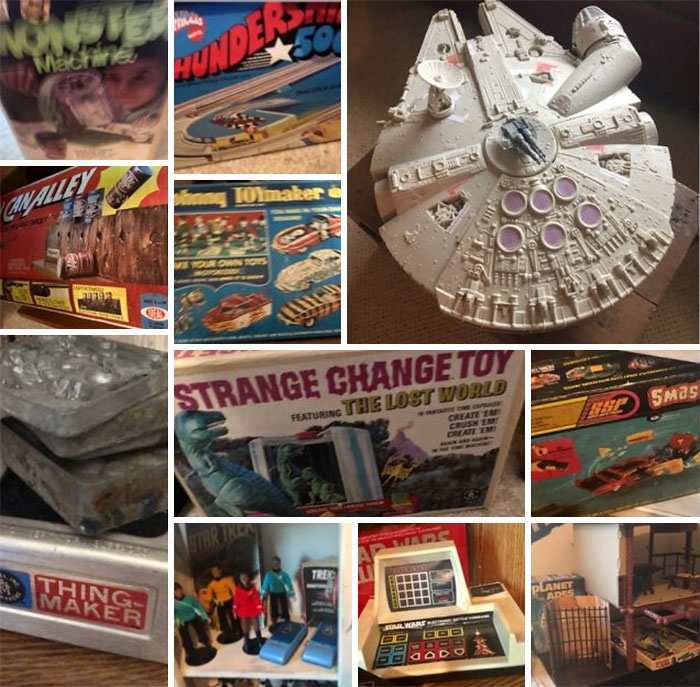 As Many Really Cool Toys From The 60s And 70s As My Time Left On This Earth Will Allow!