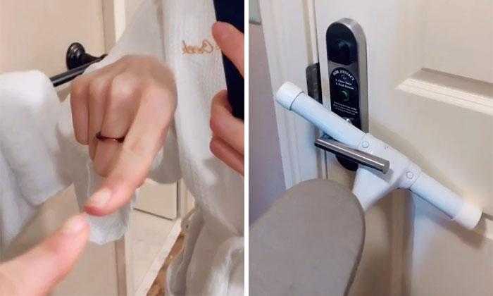 Esta mujer comparte detalles de las habitaciones de hotel en los que fijarse para saber si son seguras