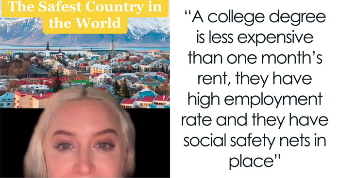 6 Facts About Iceland That You Might Not Have Heard Of Making It The Safest Country In The World, As Shared By This TikTok User