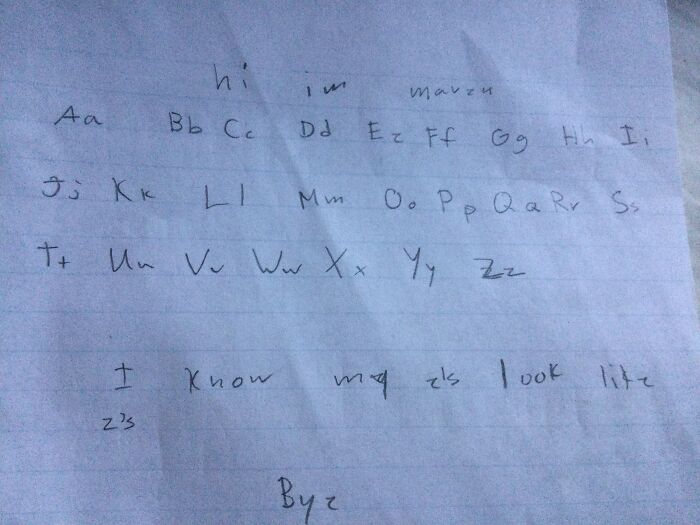 Here Is My Handwriting