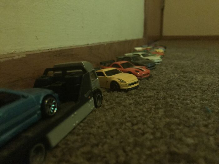 I Also Collect Hot Wheels
