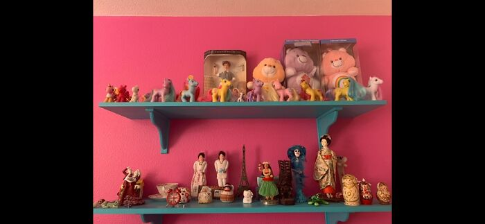My Vintage Toys And Cultural Dolls/Knick-Knacks Collections!