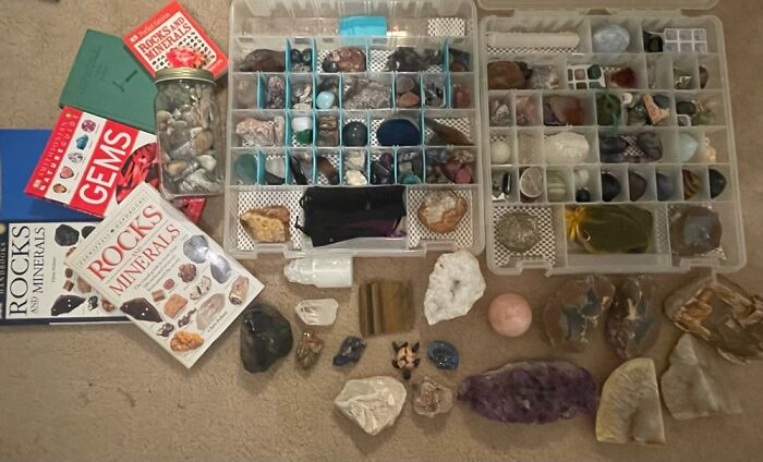 Rocks & Minerals! I Don't Believe In Chakras And Stuff Like That, I Just Think They're Cool