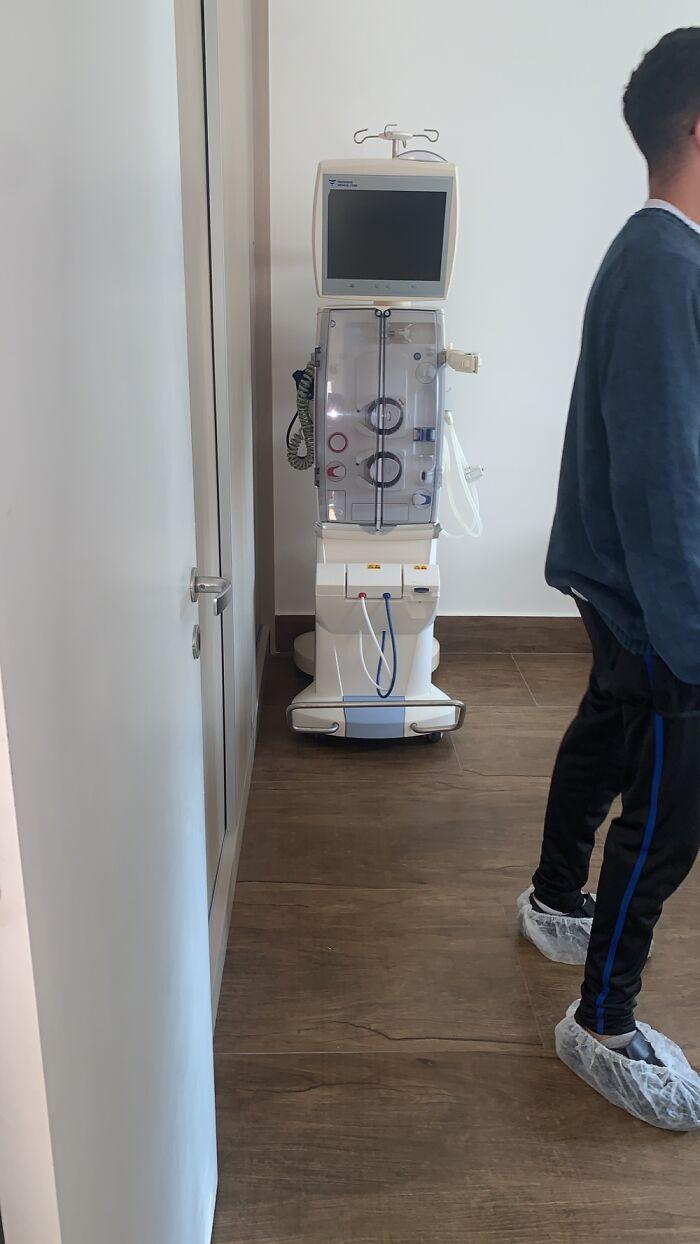 Dad's Hemodialysis Machine Arriving...