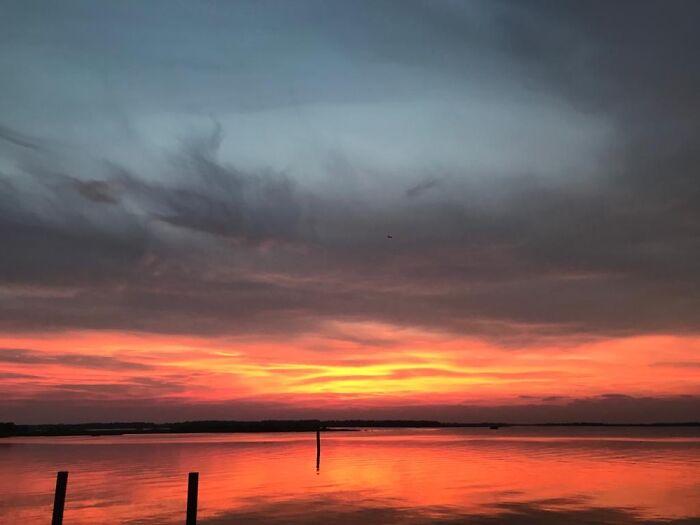 Sunset On The Venetian Lagoon (No Filter I Swear)