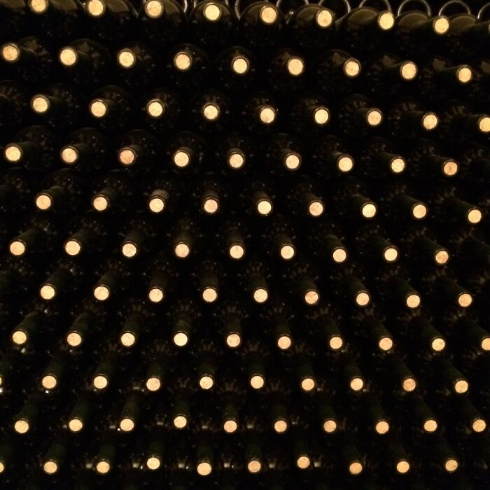 Bottles In A Cellar