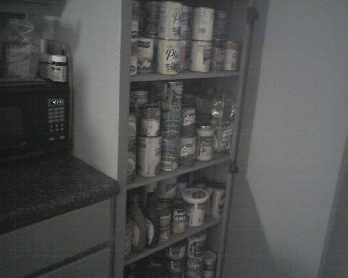 I Collect Food -- Just In Case...