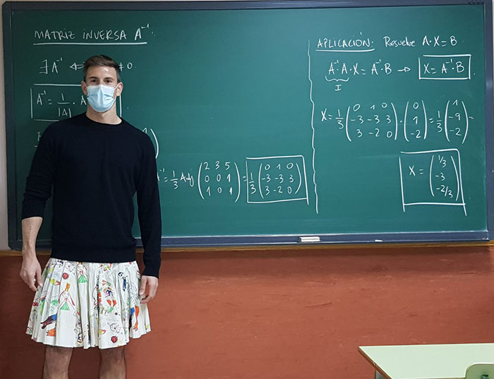 male teachers wearing skirts expelled student 1 60b5d1f956d88 700