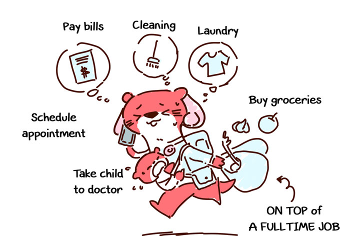 Do Men Expect Women To Do Everything? I Illustrated My Conversation With My Wife About Cleaning And Chores