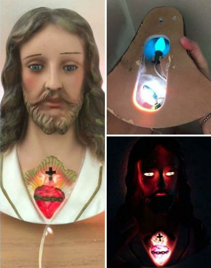 Sweet Dreams With This Jesus Lamp