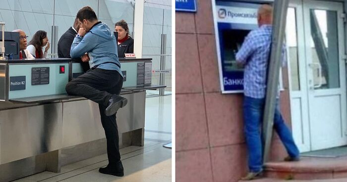 This Instagram Page Is Dedicated To Sharing The Ridiculous Ways People Were Caught Standing In Public, And Here Are 42 Of The Best Stances
