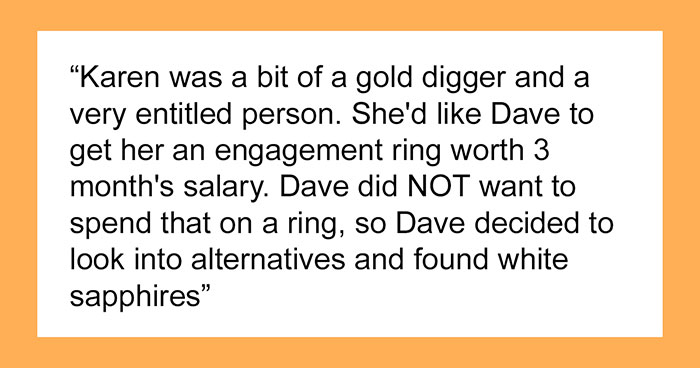 Man Gifts His Gold-Digger Girlfriend A Fake Diamond Ring, Accidentally Gets His Revenge After She Attempts To Sell It