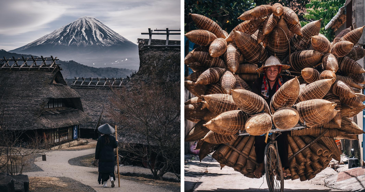 Photographer Travels Through Asia To Capture Fascinating Images Of Daily Life And Nature (100 Pics)