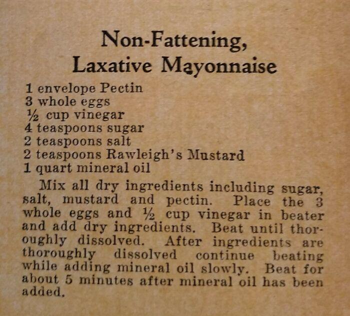 Uestionable Vintage Recipes