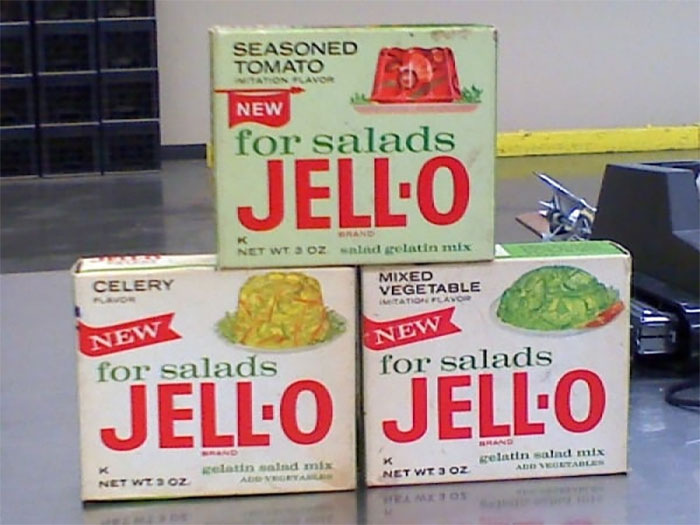 Where A Lot Of 'Salads' Got Their Jell-O From. Special Non Sweet Flavors