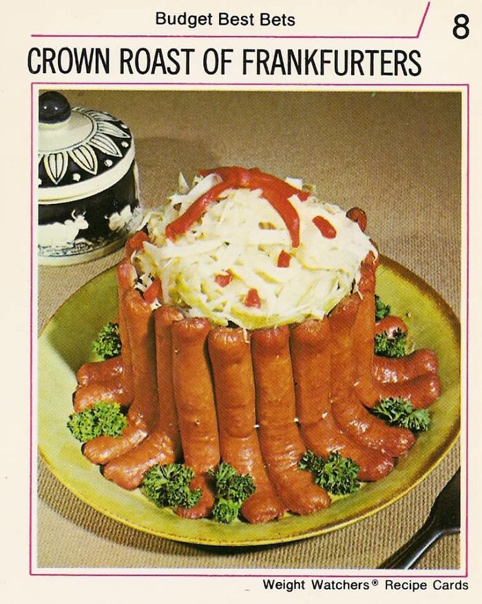 A Personal Favorite, Conceptually. From That 70s Ww Recipe Deck