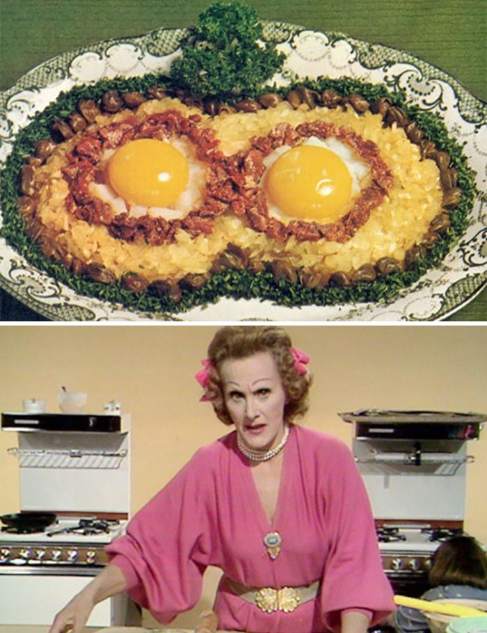 Swedish Birds Nests. A 1970s Recipe From Fanny Cradock (A Famous English TV Celebrity Chef.)