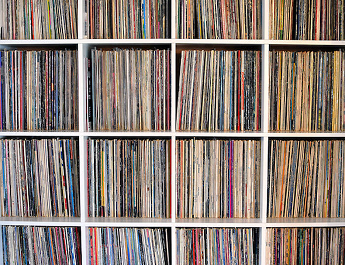 Vinyl Lps And 45's