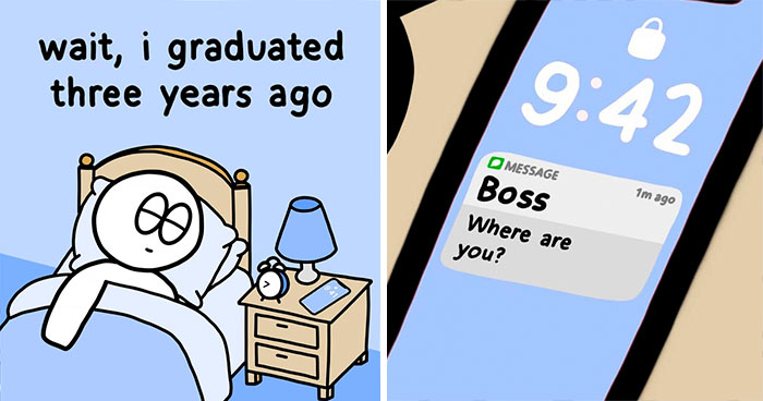 Guy Creates Comics Based On The Simple Observations Of Everyday Life (28 Pics)