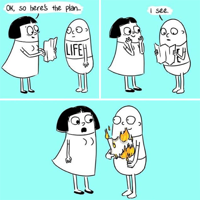 This Artist Creates Humorous Comics About Life From A Woman's Perspective (30 Pics)