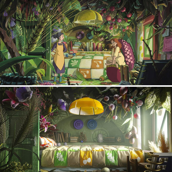 These Designers Show How Studio Ghibli Interiors Would Look Like In Real Life