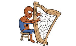 Este dibujante muestra lo que hacen los superhéroes en su tiempo libre sin decir una palabra (30 nuevos cómics)