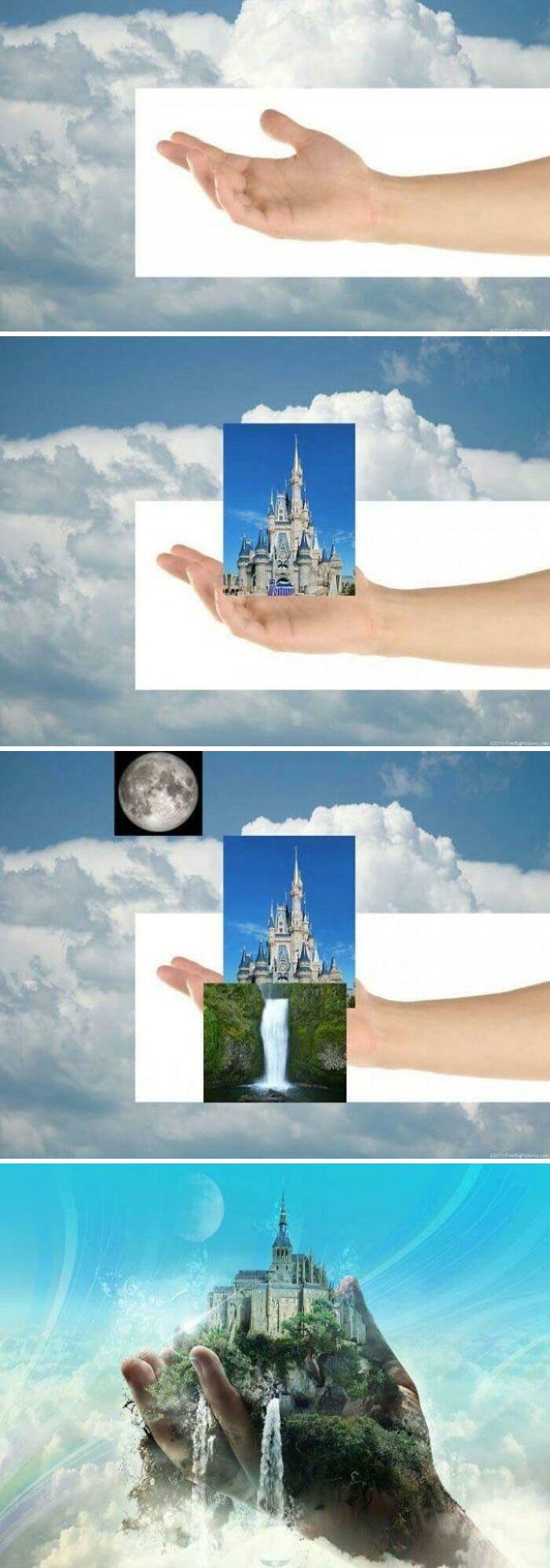 Los tutoriales de Photoshop son así