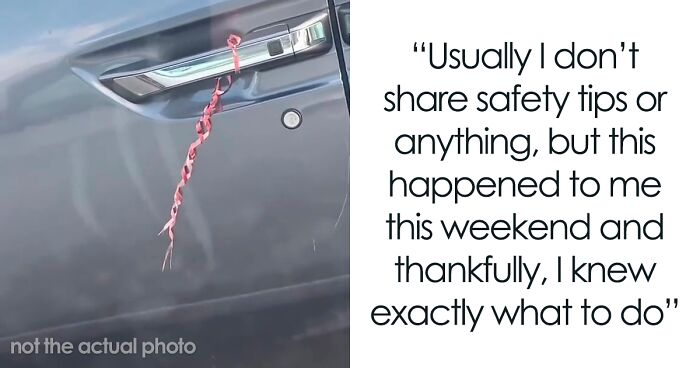 Girl Urges People To Never Examine Things Left On Cars As It Could Be A Human Trafficking Tactic