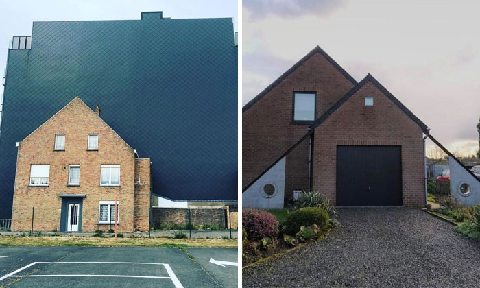 Belgian Guy Documents Ugly Houses He Sees And They're So Bad, It's Hilarious (30 New Pics)