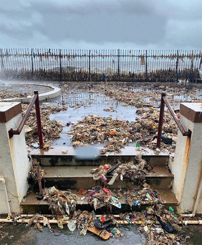 The Annual Monsoon Ritual Of Mumbai's Ocean Giving Back What Has Been Dumped In It