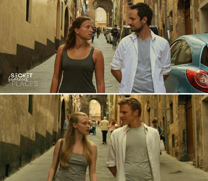 """We Visited """"Letters To Juliet"""" In Siena And Christopher Egan Shared Our Picture In His Story"""