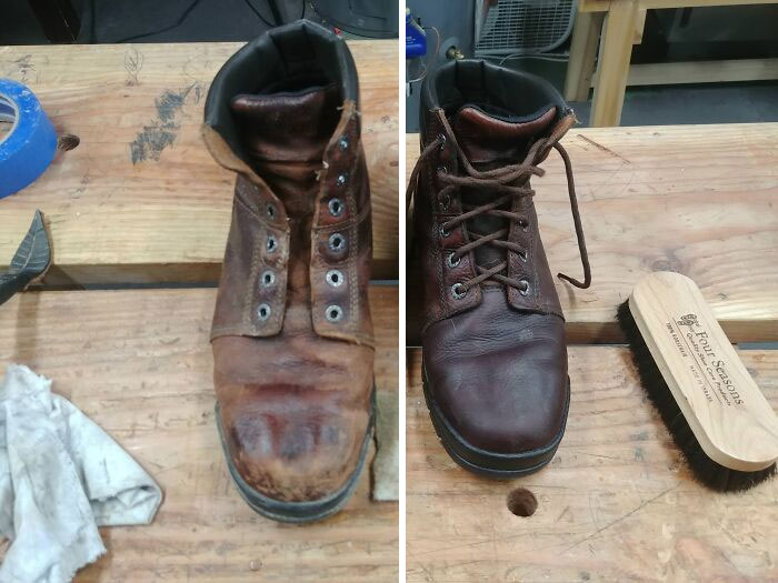 Psa: It's Time To Oil Your Leather Boots